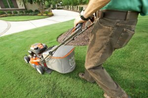 how to start lawnmowing business