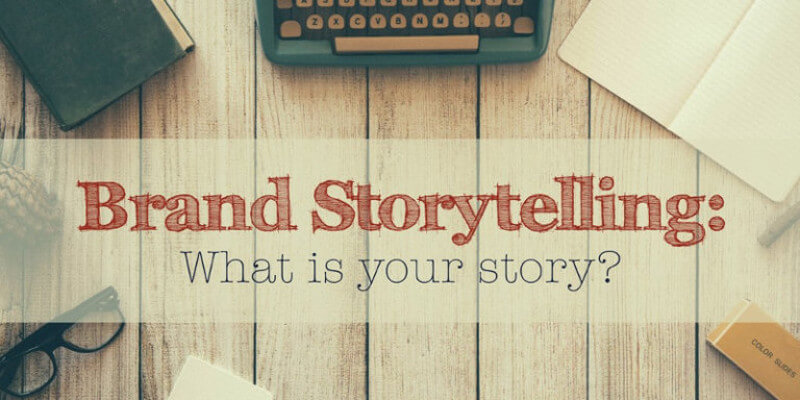 how to write a brand story