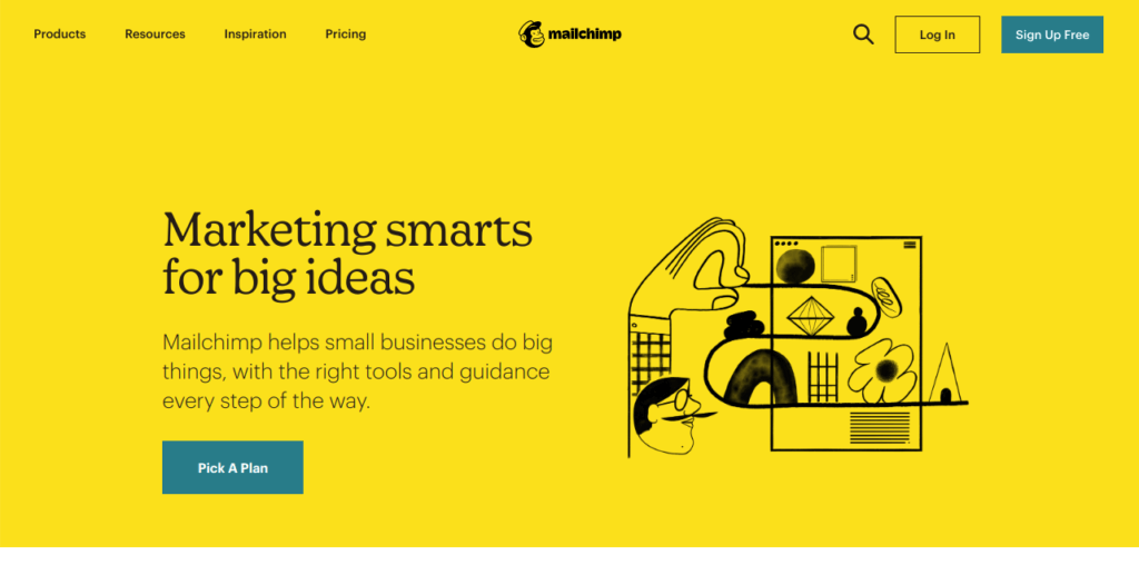 Mail Chimp – All-In-One Integrated Marketing Platform
