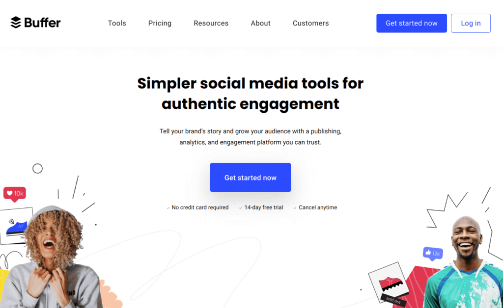buffer Social media tools for authentic engagement