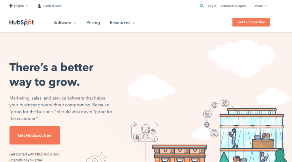 Hubspot – There's a better way to grow